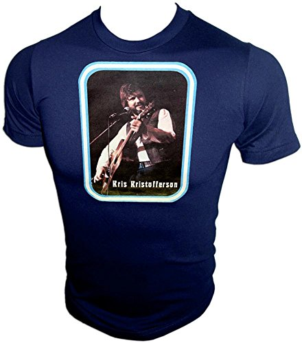 - American Ringer 70s Kris Kristofferson Country Western Music Concert Vintage Distressed T-Shirt