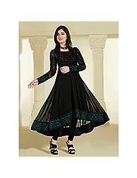 RUHANI Women's Anarkali Salwar Kameez Designer Indian Dress Bollywood Ethnic Party