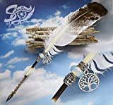 quill steam - Steampunk Quill Pen Eagles Wing Ink Dip Porcupine Quill Feather Pen Photo film prop