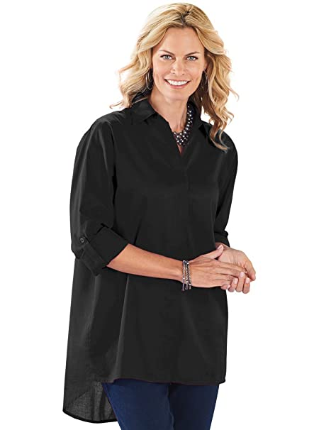 beb8a8e5c5b4b7 Classic Big Shirt at Amazon Women's Clothing store: