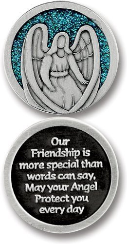 GUARDIAN Angel POCKET Token for FRIEND - Friendship - 1.25