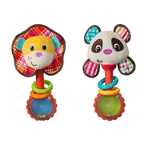 Infantino Shake & Smile Rattle Pal by