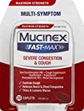Mucinex Fast-Max Adult Severe Congestion & Cough Caplets, 20ct