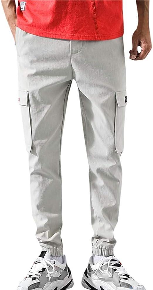 Pantalones Hombre Trabajo Pantalon Para Hombre Con Bolsillos Pantalones Deporte Hombre Color Solido Ultra Moda Pantalones Chandal Hombre Pantalones Para Trabajos De Running Para Hombre Amazon Es Ropa Y Accesorios