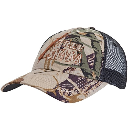 le - Mens Swamp People - Tree Shaka Adjustable Trucker Cap Multi ()