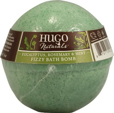 Eucalyptus, Rosemary & Mint Bath Bomb-6 oz Brand: Hugo Naturals (Hugo Natural Bath Bomb)