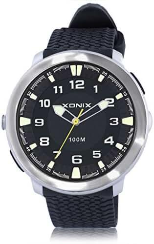 Fashion simple couple of luminous lighting waterproof quartz watches-K