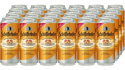 Schofferhofer Grapefruit Beer, 500 ml, Case of 24, NA27