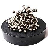 Glantop® Magnetic Sculpture Desk Toy for Intelligence Development and Stress Relief (Set of 160 Balls, 1 Magnet Base)