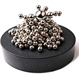Glantop® Magnetic Sculpture Desk Toy for Intelligence Development and Stress Relief (Set of 160 Balls, 1 Magnet...