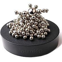 Glantop® Magnetic Sculpture Desk Toy for Intelligence Development and Stress Relief (Set of 160 Balls, 1 Magnet...