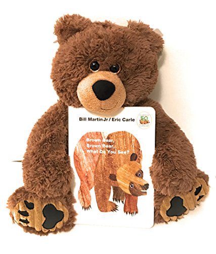 Eric Carle Board Book for Children Bundle. Bear and Book: Brown Bear, Brown Bear What Do You See?.
