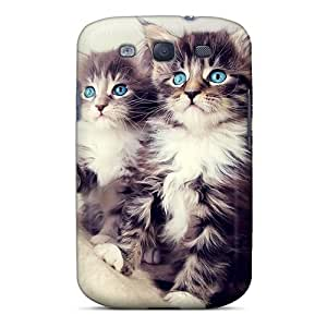 Shock-dirt Proof Kittens Case Cover For Galaxy S3