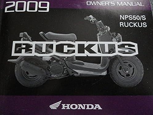 2009 honda ruckus owners manual nps50 s nps 50 amazon com books rh amazon com Honda Ruckus Turbo Motonosity Honda Ruckus