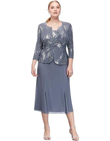 2019 real 60% cheap sale retailer Plus Size Mother of the Bride Dresses | Amazon.com