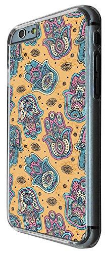 508 - Shabby Chic Multi Hamsa Hands Design iphone 6 PLUS / iphone 6 PLUS S 5.5'' Coque Fashion Trend Case Coque Protection Cover plastique et métal
