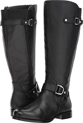 Naturalizer Women's Jenelle Wc Riding Boot, Black, 8.5 M US by Naturalizer