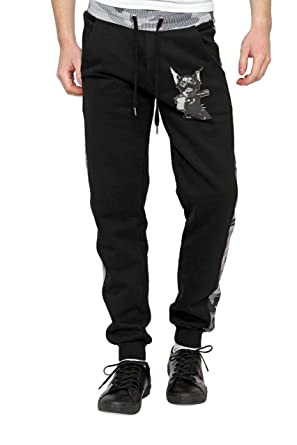 Philipp Plein Herren Hose Sweaterhose Jogginghose MIRRORED