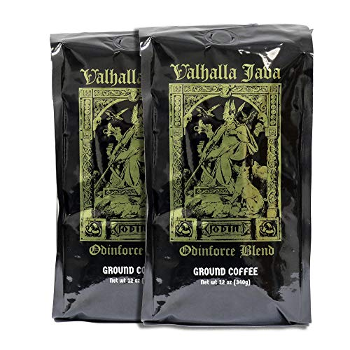 Valhalla Java Ground Coffee Bundle Deal, USDA Certified Organic & Fair Trade (2-Pack) by Death Wish Coffee Co. (Image #2)