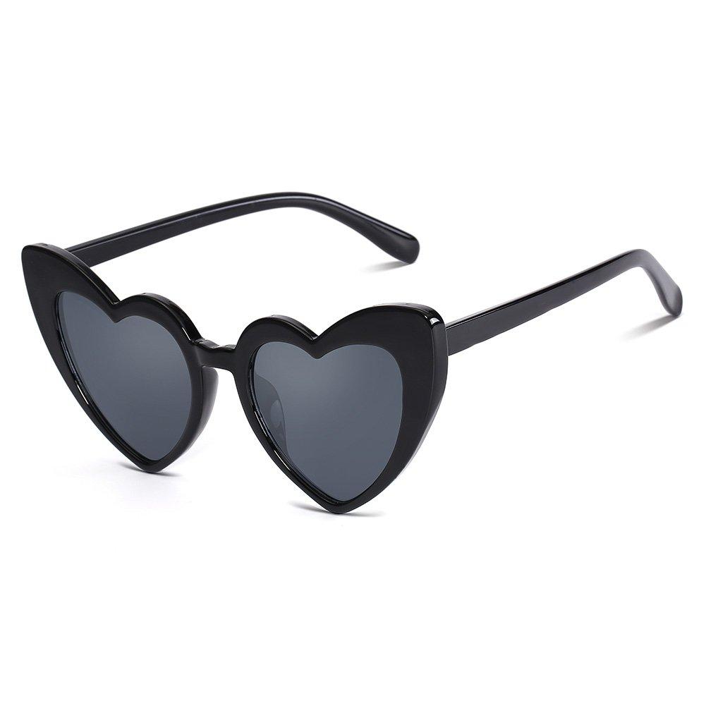 Amazon.com: Con forma de corazón de sol para mujer Clout ...