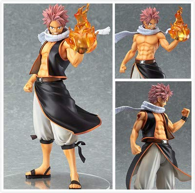 Allegro Huyer Good Smile Anime PVC 1/7 Fairy Tail Natsu Dragnir Action Figure Natsu Dragneel Model Toy Decoration Collections Men Gift 20cm