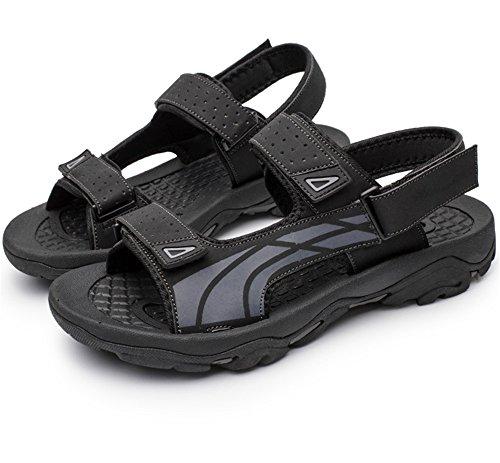 Wagsiyi Casual da Da Scarpe Nero Impermeabili Fondo Uomini Spiaggia 3 Dimensione spiaggia 40 2 Scarpe pantofole Gomma Scarpe Estivi EU Colore Sandali Nero Antiscivolo rwx7nrq6A