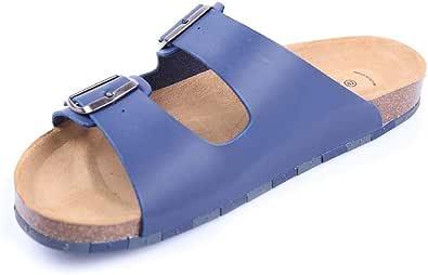 Ccilu Bio Aura Sandals for Men - Blue/Beige