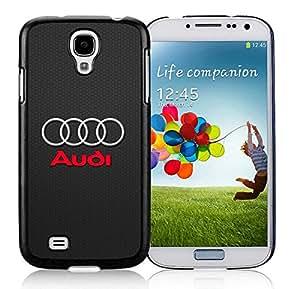 Samsung Galaxy S4 Audi Logo Black Screen Cellphone Case Unique and Genuine Design