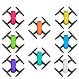 Iusun 8Psc Waterproof Stickers Wrap Skins Decal Body Protector for DJI Spark Mini Drone (A)
