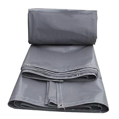 Heavy Duty Tarpaulin PVC Doble cara Impermeable al aire libre Sombra de tela Camión A prueba