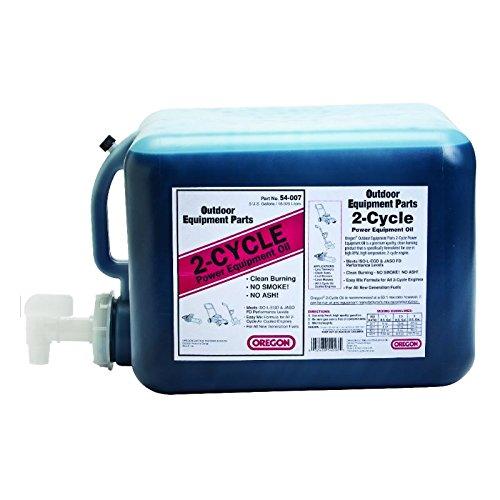 Oregon 54-007, Two Cycle Oil 5 Gallon Jug, 250 Gallon Mix by Oregon