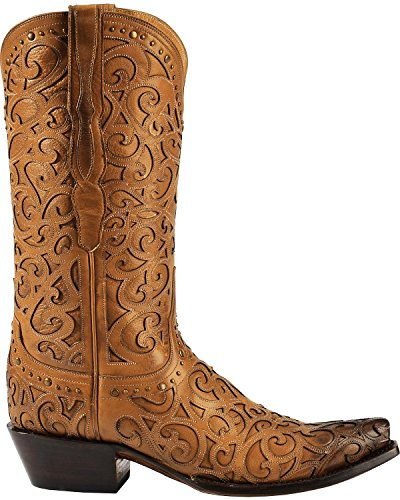 Lucchese Womens Western Boot Tan