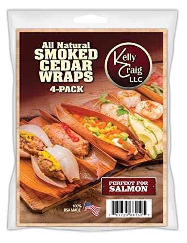 Kelly Craig 6815 Cedar Grill Wraps, Made in America, Set of 4