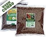 NaturesPeck Worm Combo - 10 lbs (5lbs Mealworms + 5lbs Sunworms)