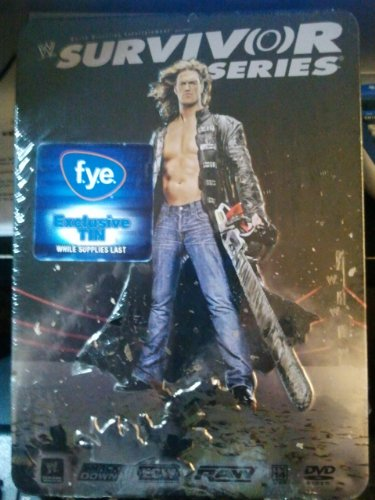 WWE Survivor Series 2007 Collectable Tin (Wwe Tin Dvd)