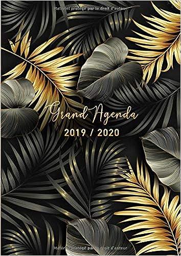 Grand Agenda 2019/2020: 17 mois journalier 2019-20 - grand ...