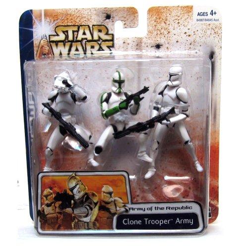 Clone Army (Star Wars Clone Wars : Clone Trooper Army w. Green Sergeant)