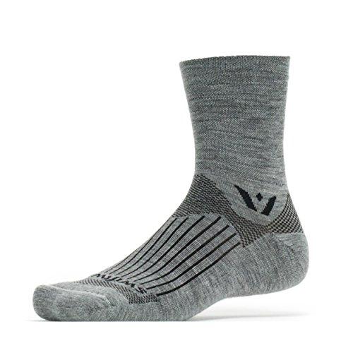 Swiftwick Pursuit Four Socks, Heather, Medium