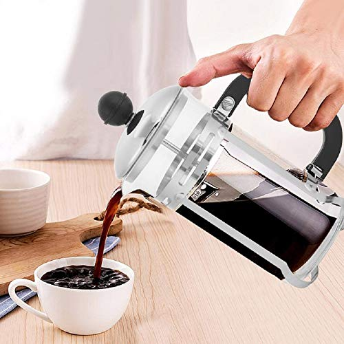 Coffee Pot Stainless Steel Glass Hollow Filter Coffee Pot Press Plunger This Is Support Tools For Coffee Everyday
