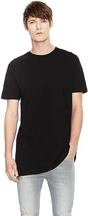 Earth Positive Camiseta Hombre de Algodón Orgánico, Corte Largo, EP13 (M): Amazon.es: Ropa y accesorios