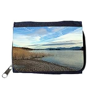 le portefeuille de grands luxe femmes avec beaucoup de compartiments // M00313559 Chiemgau Chiemsee paisaje del cielo // Purse Wallet