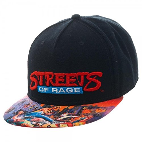 Sega Genesis Games Snapback Cap Hat Collection (Streets of Rage)