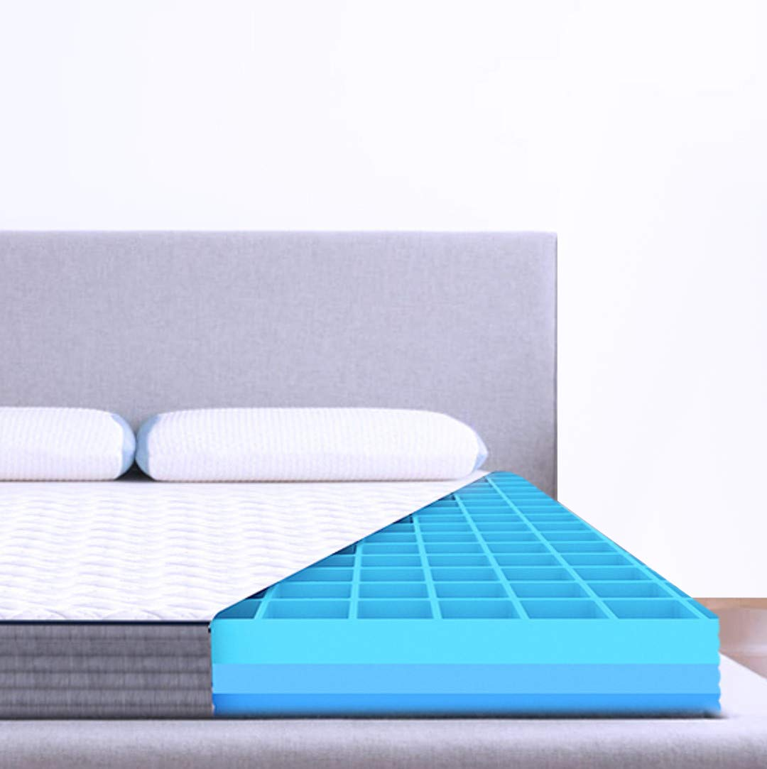"""9.The Sleep Company SmartGRID Luxe 8"""" King-Size Bed Mattress"""