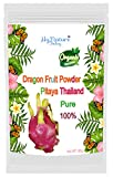 yogurt powder mix - Best Natural in Asia Dragon Fruit Powder - Pitahaya Powder for Enjoy Mix your drink yogurt fruit drink