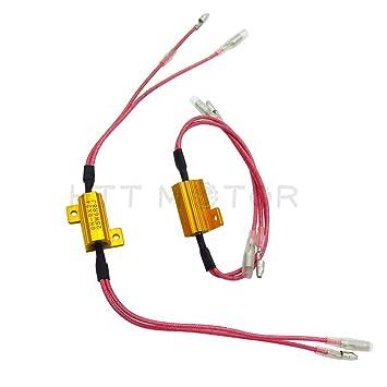 Bombilla LED resistencias de carga flash intermitente Fix para Honda CBR 600 954 1000 1100 RR: Amazon.es: Coche y moto