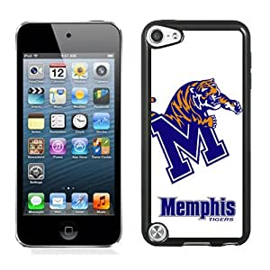 Beautiful And Popular Designed With NCAA American Athletic Conference AAC Football Memphis Tigers 2 Protective Cell Phone Hardshell Cover Case For iPod 5 Phone Case Black