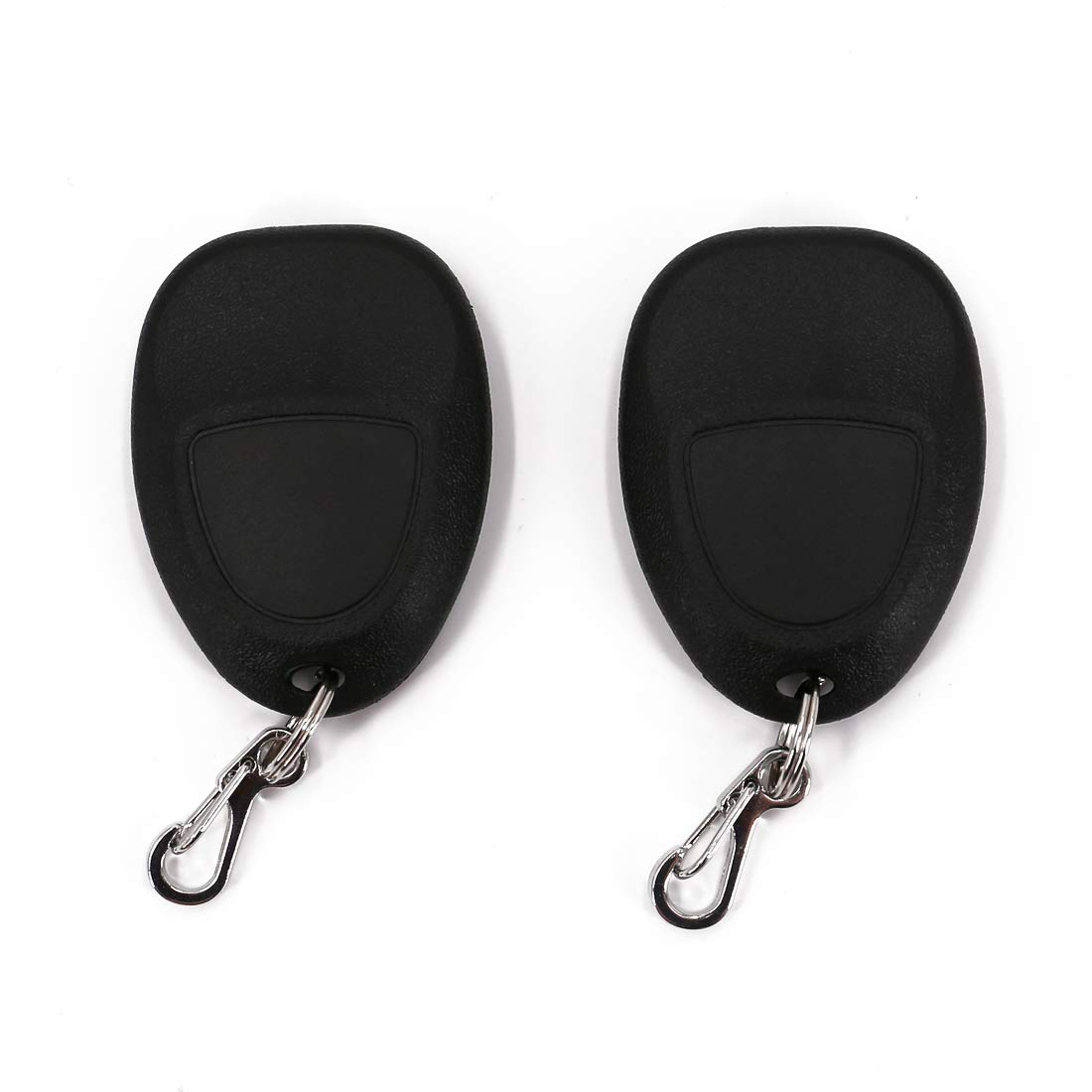 GMC Cadillac UTSAUTO Key Fob Shell Case 2 Pack Keyless Entry Remote Clicker OUC60270 OUC60221 15913420 15913421 4 Button Fits Chevy