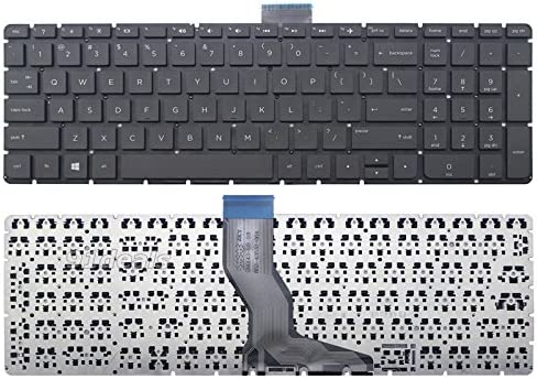 Replacement for HP 15-BS022ca 15-BS023ca 15-BS027ca 15-BS028ca 15-BS058ca 15-BS080ca Without Frame New US Black English Laptop Keyboard