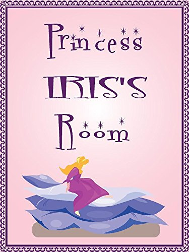 Any and All Graphics Princess IRIS Room Pink Design 9