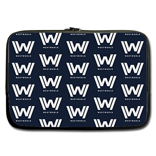 JIUDUIDODO Custom Sightly Westworld Water Resistant Neoprene Computer Bag Sleeve for Laptop 17